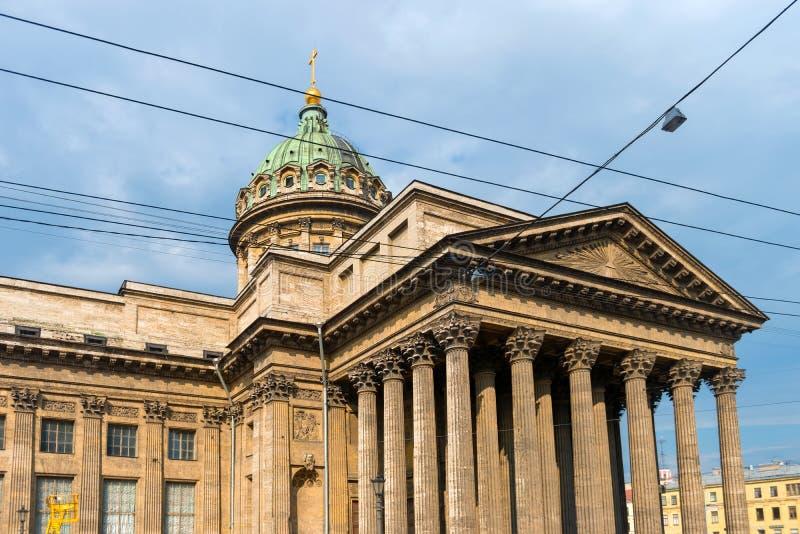 памятник kazan arhitektury собора исторический стоковое фото