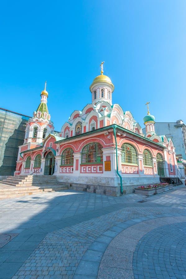 памятник kazan arhitektury собора исторический стоковая фотография