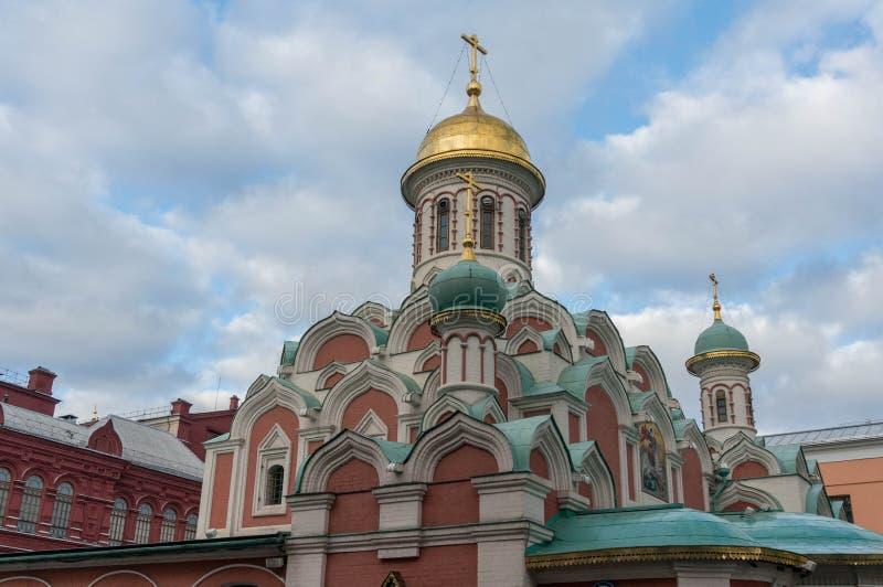 памятник kazan arhitektury собора исторический стоковая фотография rf