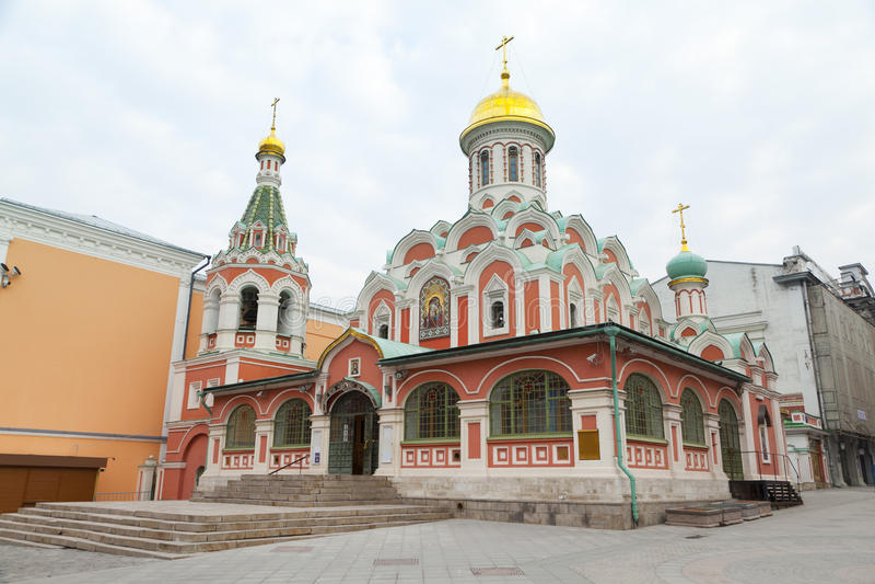 памятник kazan arhitektury собора исторический стоковые фото