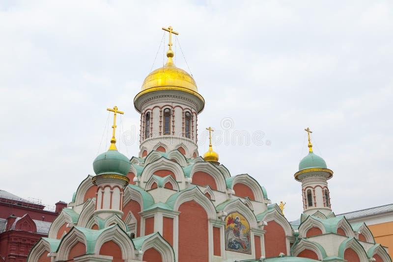памятник kazan arhitektury собора исторический стоковое изображение