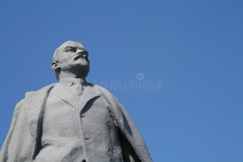 памятник lenin стоковая фотография rf