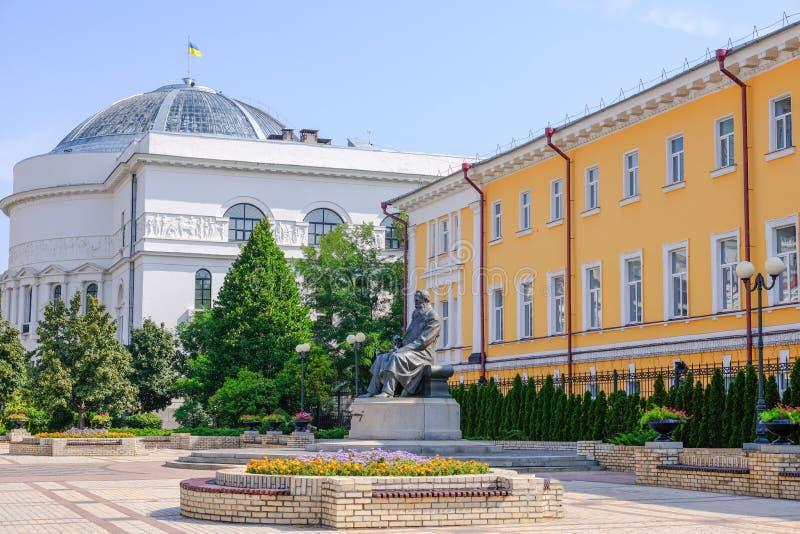 Памятник Mikhail Grushevsky стоковые изображения