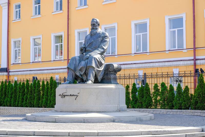 Памятник Mikhail Grushevsky стоковое фото