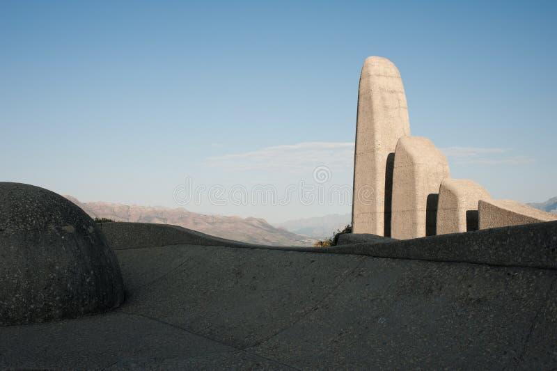 Памятник Paarl стоковое изображение
