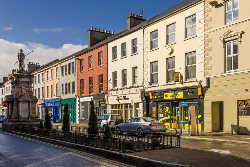 Памятник 1798 Pikeman St Denny tralee Ирландия стоковое фото