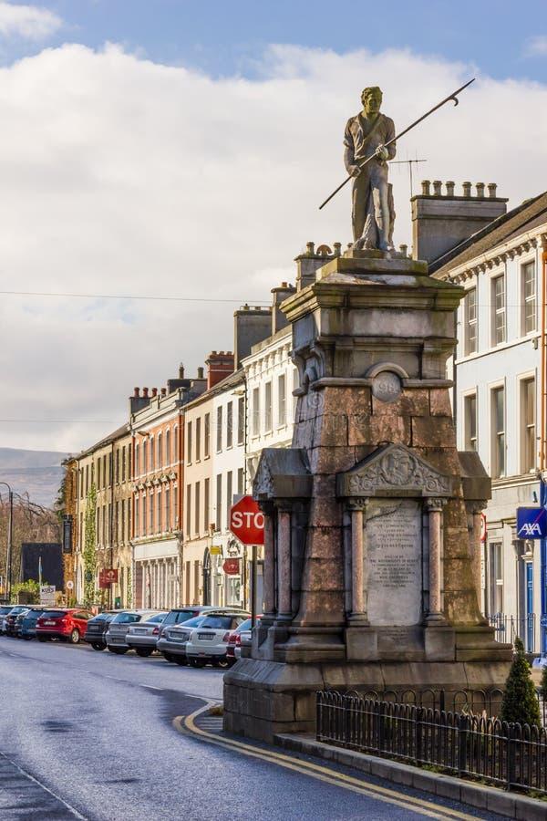 Памятник 1798 Pikeman tralee Ирландия стоковые изображения