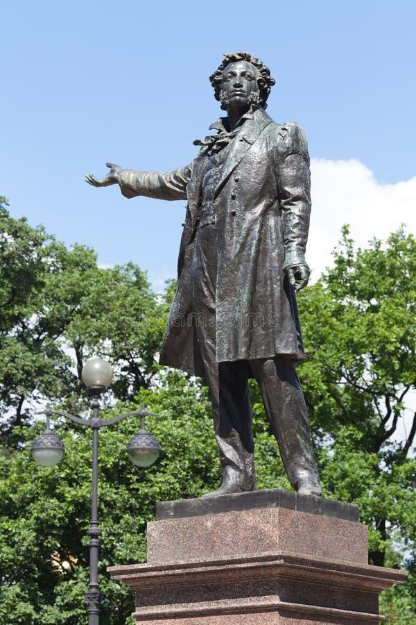 памятник pushkin Александра к стоковое фото rf