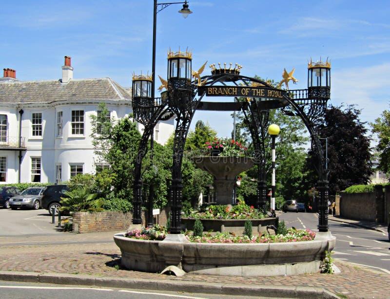 Памятник RSPCA на Большом Лондоне Великобритании холма Ричмонда стоковое фото