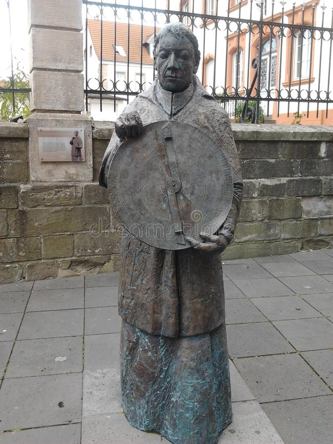 Памятник Wendelin Святого стоковое изображение rf