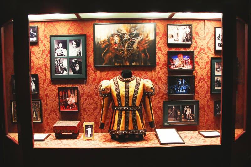 Памятные вещи театра в столичной опере в Нью-Йорке стоковые фотографии rf