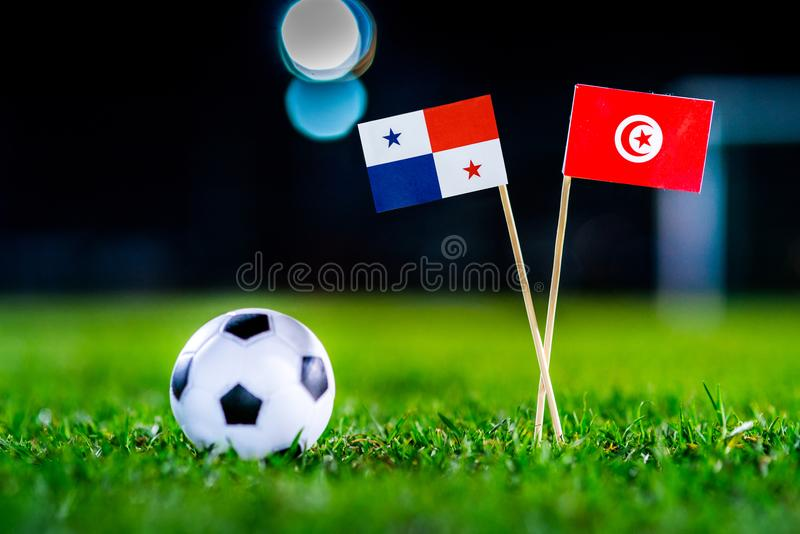 Панама - Тунис, группа g, Thursday, 28 Футбол -го июнь, мир c стоковое изображение rf
