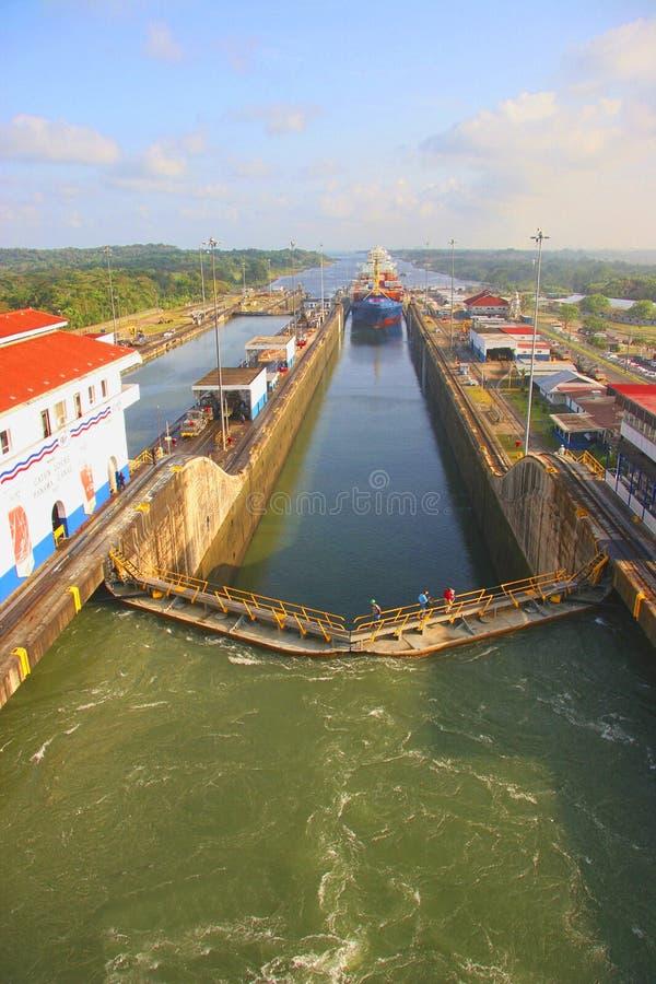 Панамский Канал стоковое фото rf