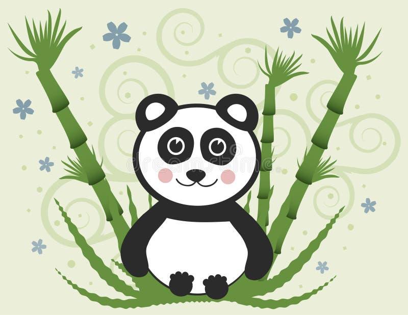 панда младенца жизнерадостная бесплатная иллюстрация