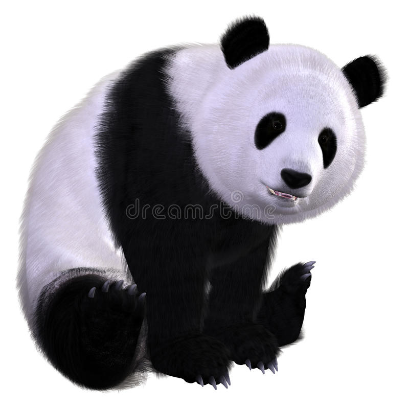 панда бесплатная иллюстрация