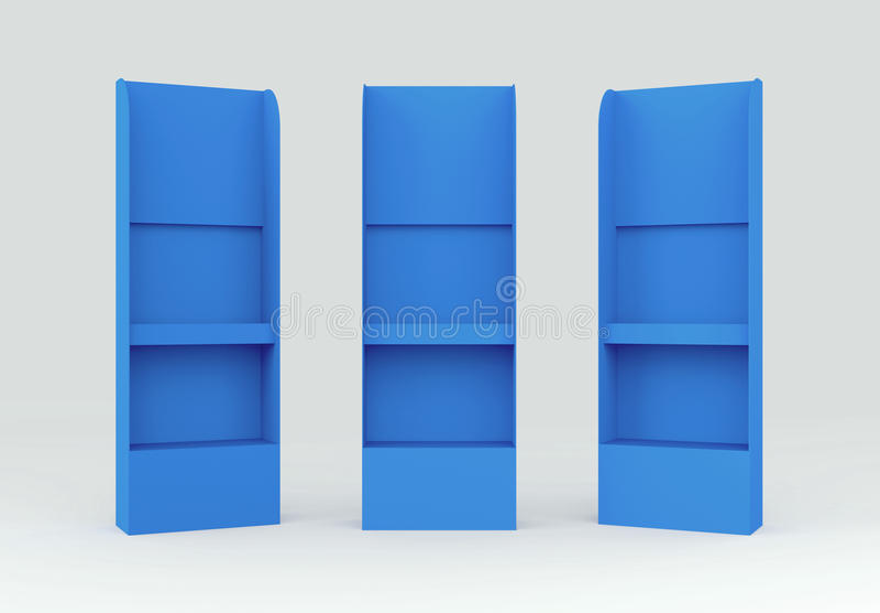 панель гондолы дисплея 3d shelves провод крыла стоковое фото