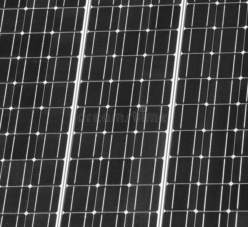 панель крупного плана солнечная стоковые фото