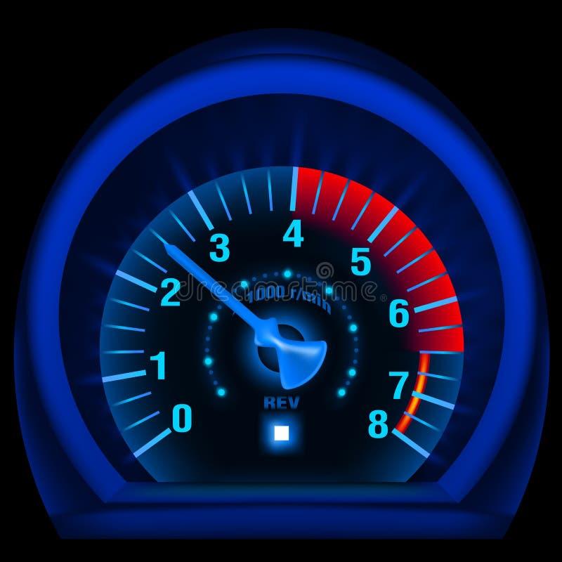 панель сини bike бесплатная иллюстрация