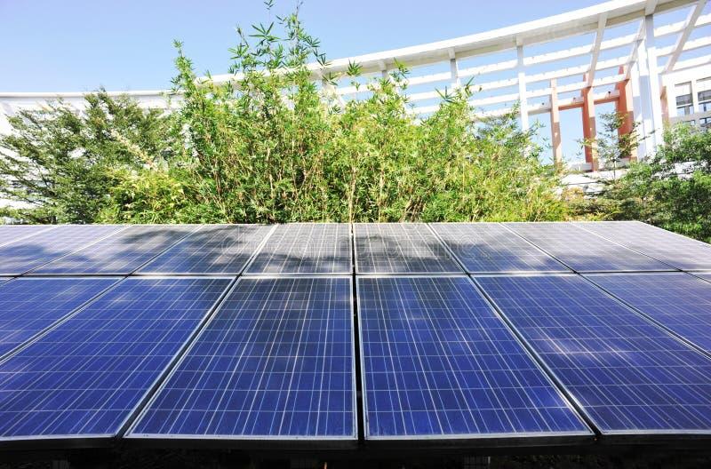 панель солнечная стоковая фотография rf