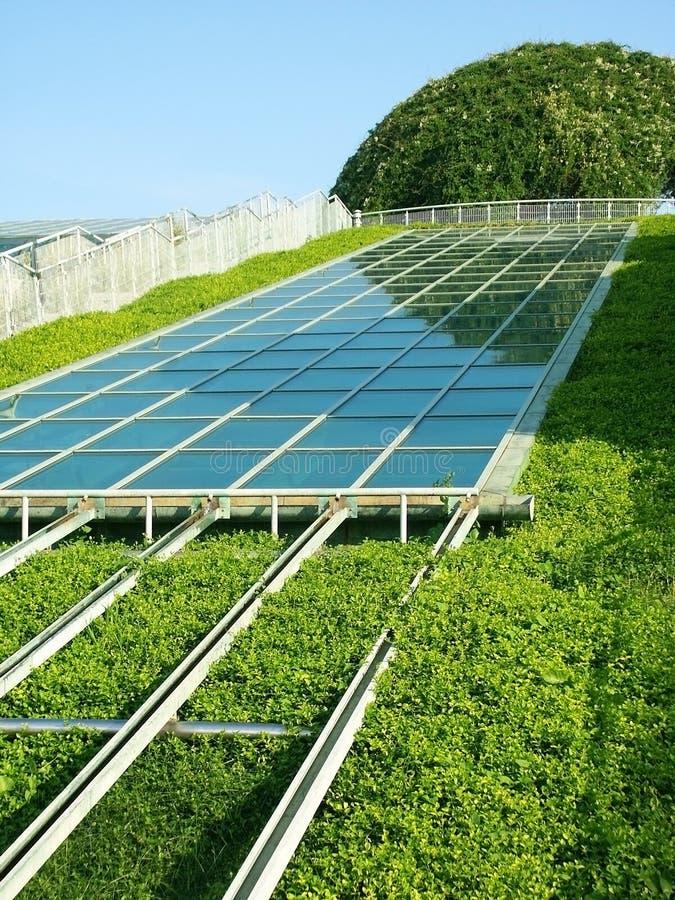 Панель солнечных батарей. стоковые изображения rf