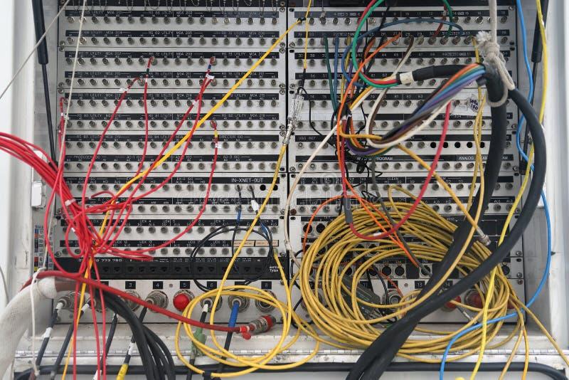 Панель IO удаленной тележки продукции передачи видео- стоковое изображение rf