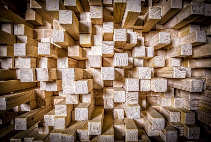 Панель Qrd деревянная ядровая стоковые изображения rf