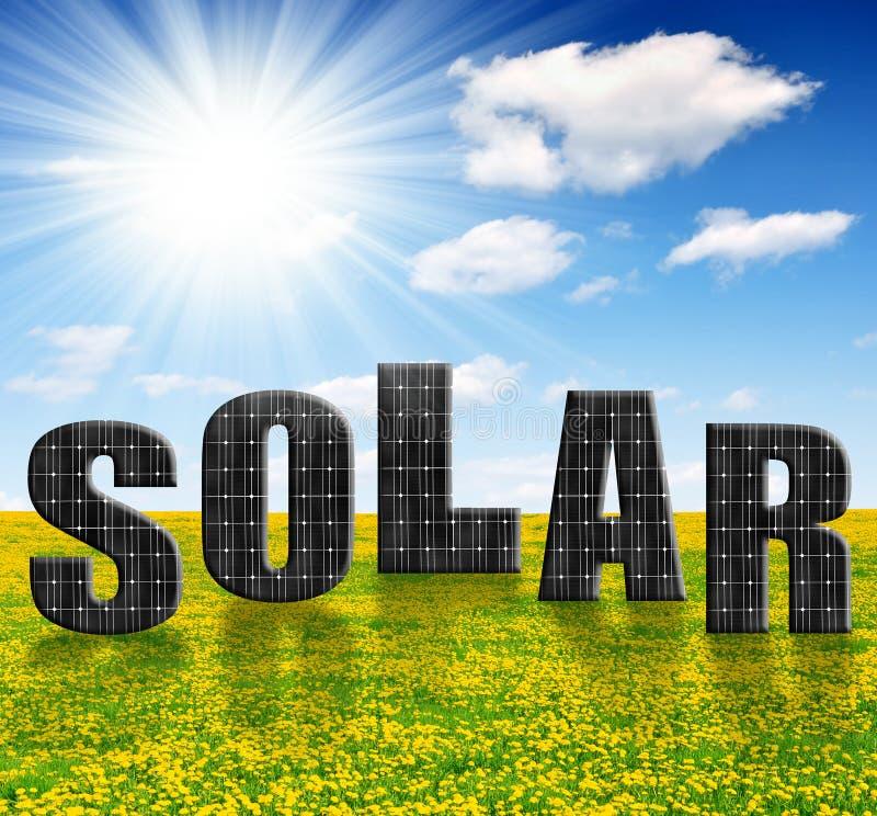 Download Панели солнечной энергии стоковое изображение. изображение насчитывающей панель - 33727629