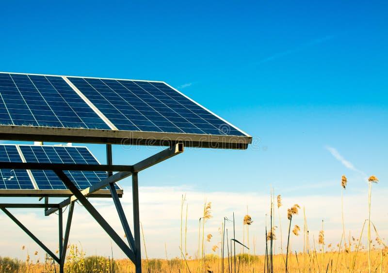 Панель солнечной энергии стоковое изображение