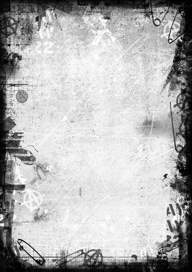 Панковская рамка бесплатная иллюстрация