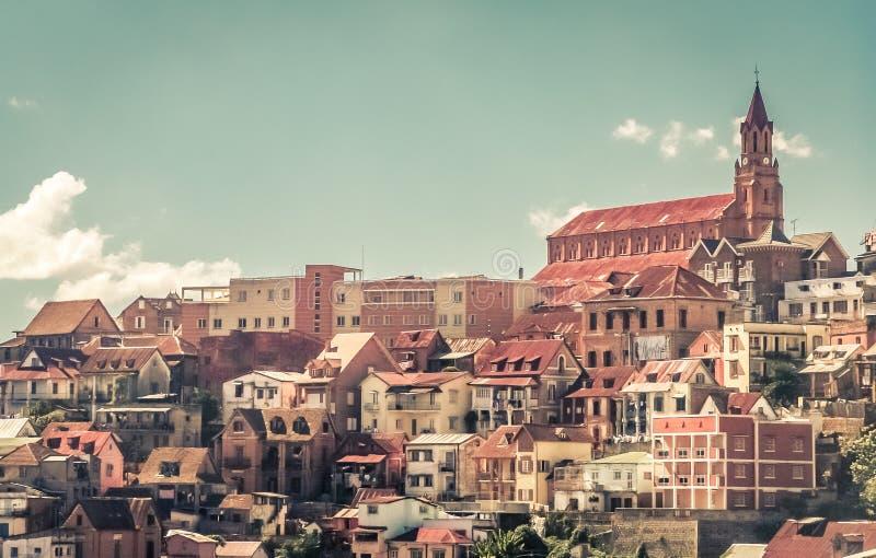 Панорама Антананариву стоковые изображения rf