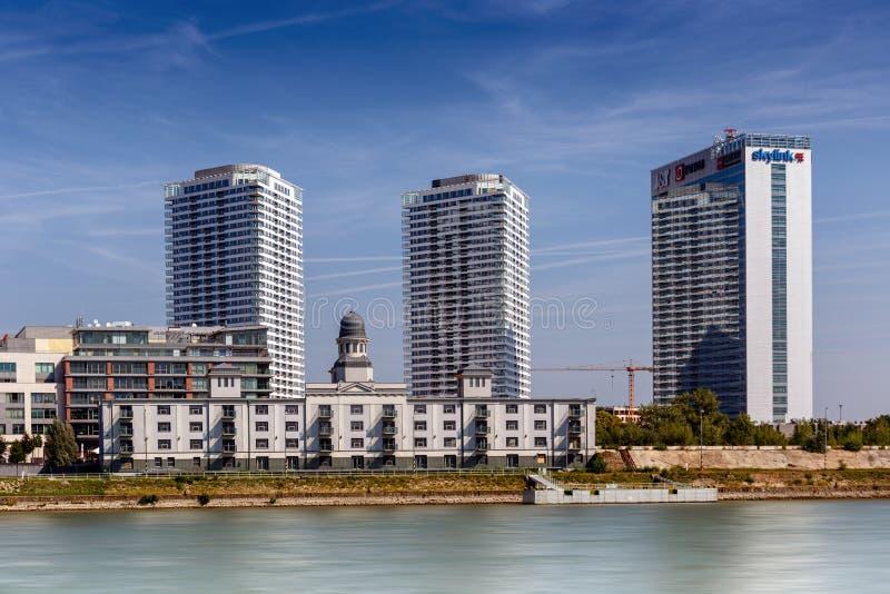 панорама ландшафта города предпосылки естественная стоковое фото rf