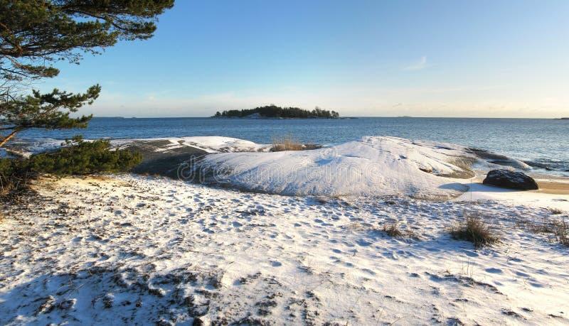 Панорама архипелага Хельсинки стоковое изображение rf