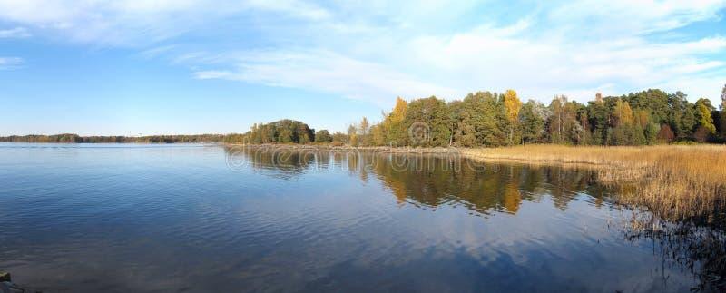 Панорама архипелага Хельсинки стоковые изображения rf
