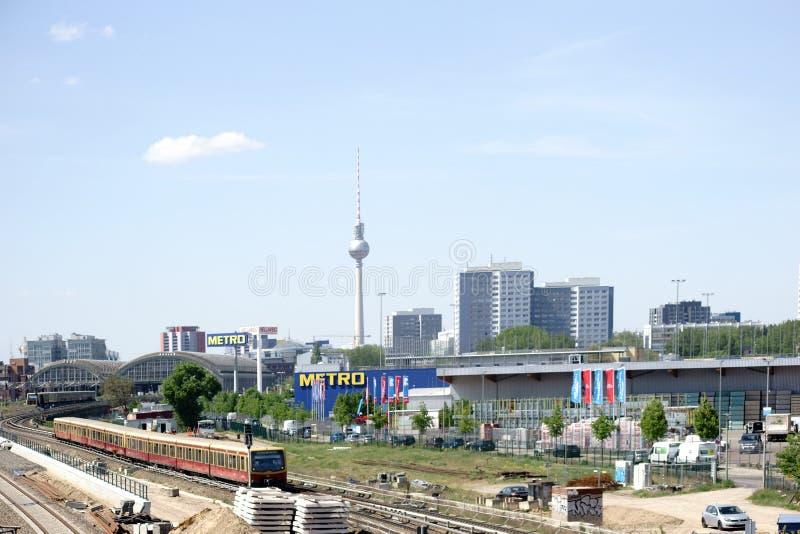 Панорама Берлина стоковые фотографии rf