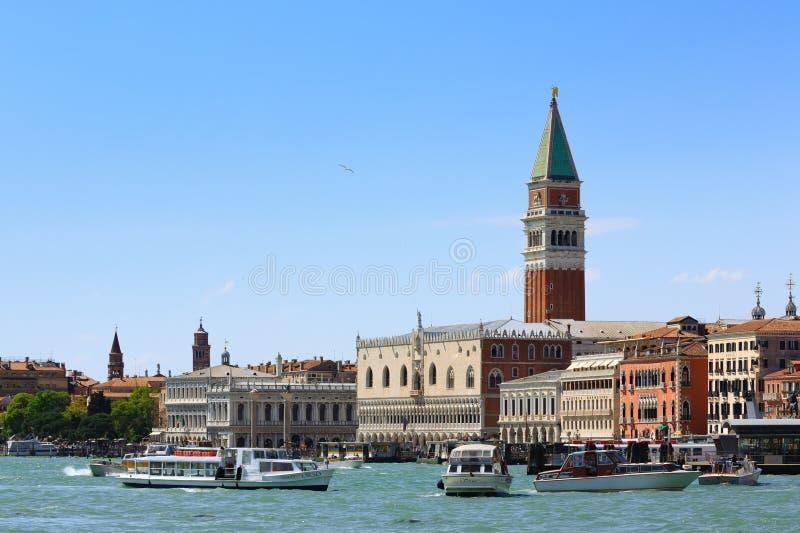 Панорама Венеции, Италия стоковые фотографии rf