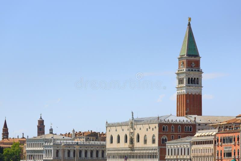 Панорама Венеции, Италия стоковое фото rf