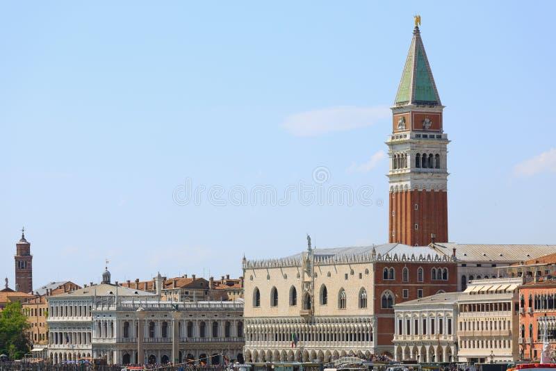 Панорама Венеции, Италия стоковые изображения rf