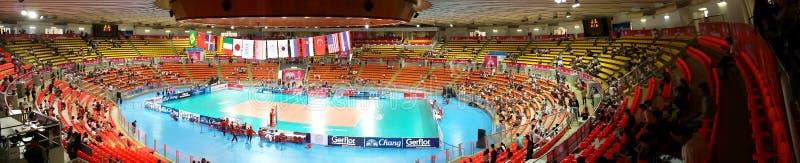 Панорама волейбола WGP стоковая фотография