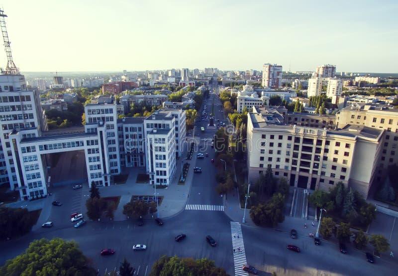 Панорама города стоковая фотография