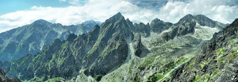 панорама горы стоковое изображение