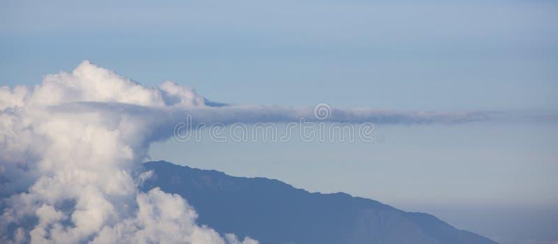 Панорама гор Анд Положение Мериды Венесуэла стоковое изображение rf
