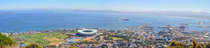 Панорама Кейптауна стоковые изображения