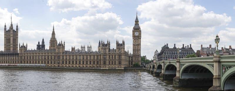 Панорама Лондона стоковое изображение rf