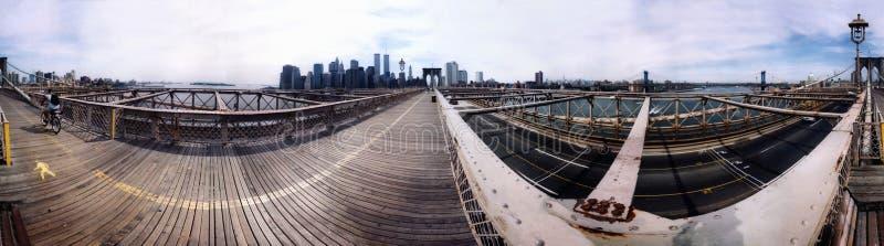 Панорама Манхаттан 2000 стоковая фотография