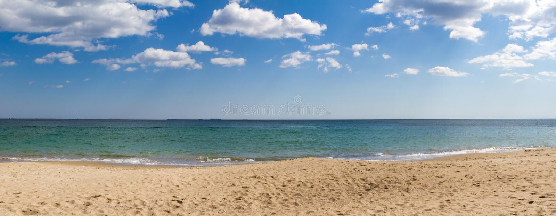 Панорама моря стоковые изображения rf