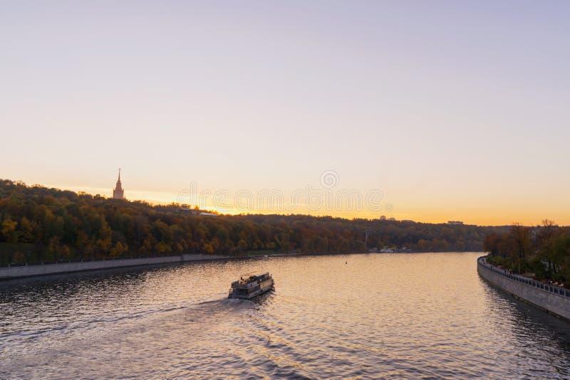 Панорама Москвы стоковые фотографии rf