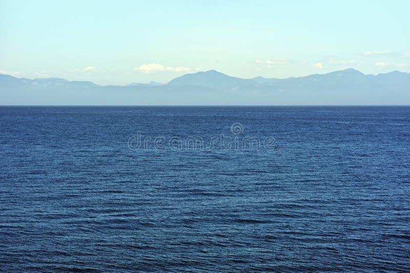 Панорама океана стоковые изображения rf