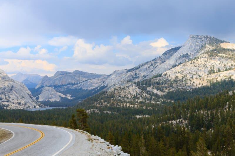Панорама от национального парка Yosemite стоковые фотографии rf