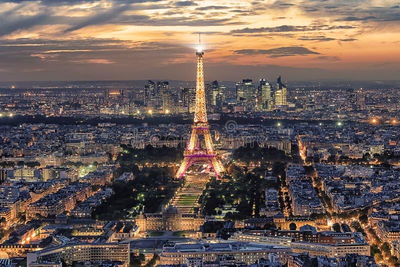 Панорама Парижа стоковое изображение