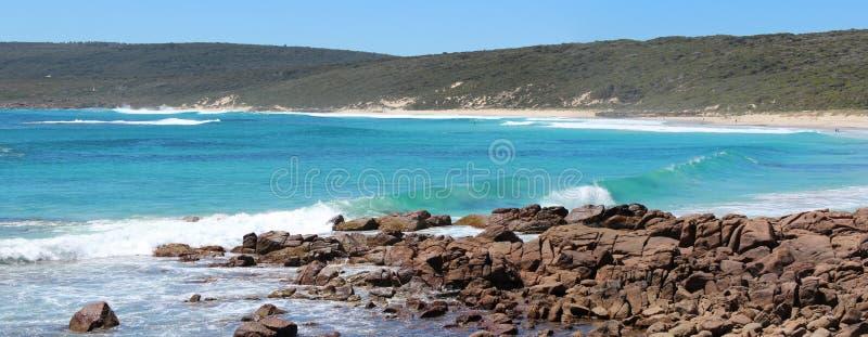 Панорама пляжа южного западного Австралии Смита стоковое фото rf